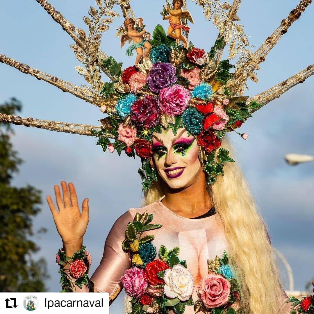 Life Is Like A Carnival Carnaval Las Palmas 2020 Dragsethlas Winner 2020 Repost Lpacarnaval Drag Las Palmas De Gran Canaria Carnival Carnaval