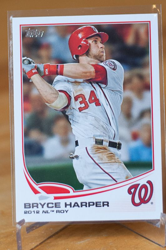 Baseball Cards Of The Month Club Bryce Harper Washington