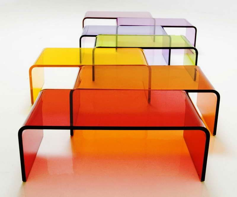 Clear Acrylic Coffee Table Lucite Coffee Tables Acrylic