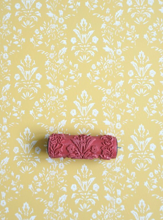 Patterned Paint Roller No 27 From Paint Courage Etsy Patterned Paint Rollers Painting Patterns Paint Roller