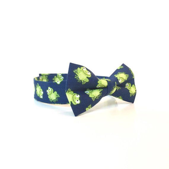 Youth Zebra Print Bow-Tie