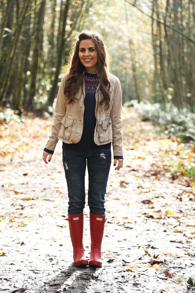 94a5928f9af faire isle fall | dress cori lynn. | Wellies rain boots, Casual ...