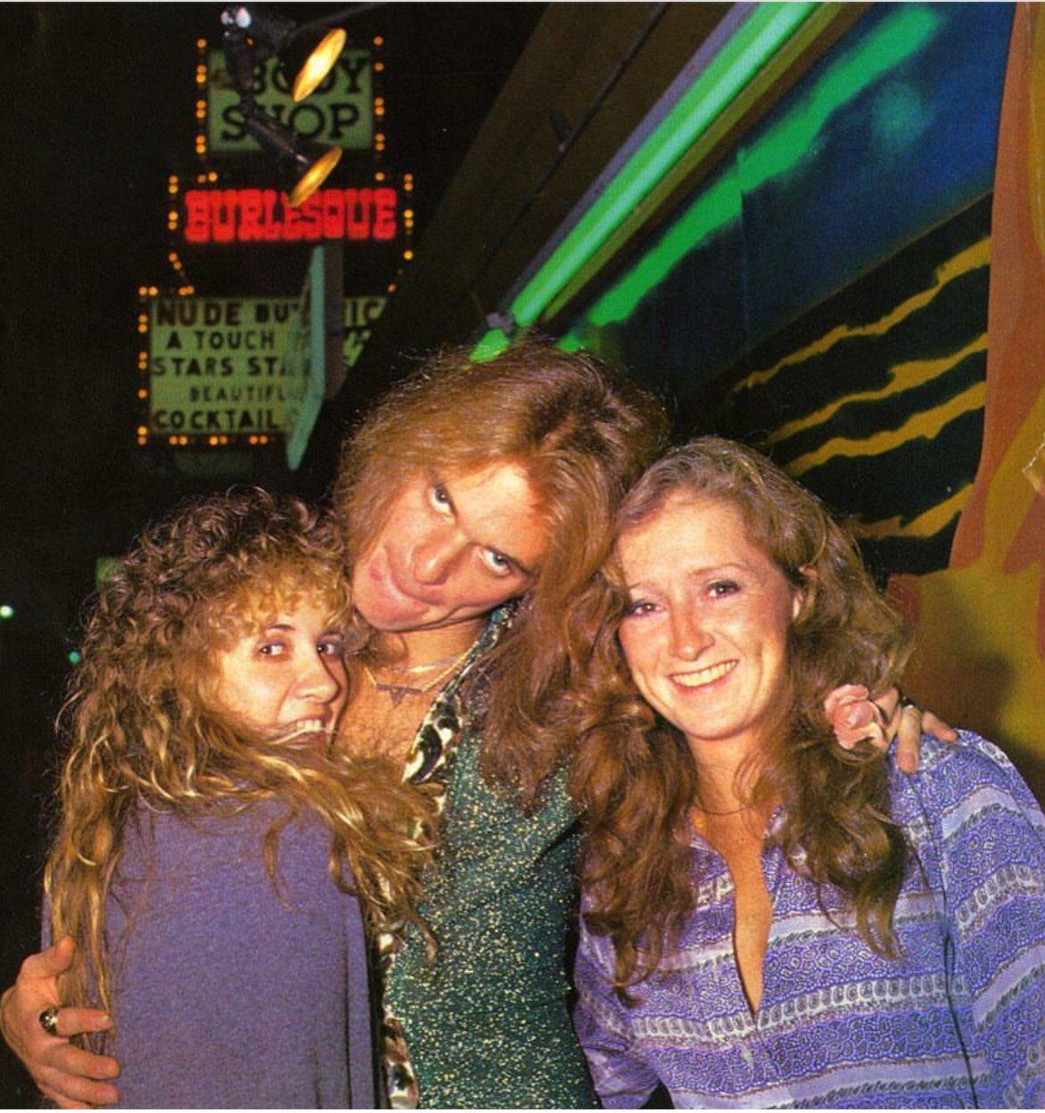 David Lee Roth Bonnie Stevie Stevie Nicks Bonnie Raitt David Lee Roth