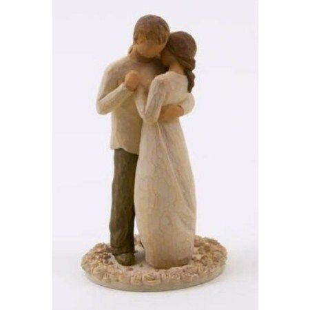 Willow Tree Promise Cake Topper Figurine 26189 Hold Dear The Of Love