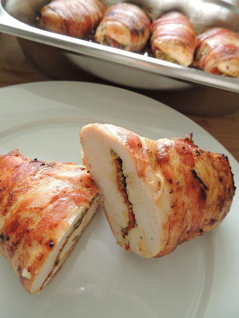 Swiat Mojej Kuchni Piers Z Kurczaka Z Pesto I Chorizo Drob