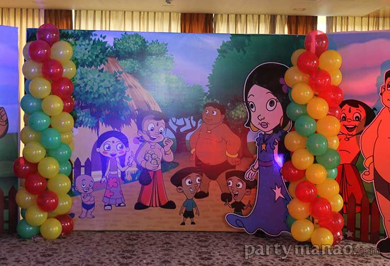 Customized Chota Bheem Birthday Party Decorations And Theme Supplies By Partymanao In India