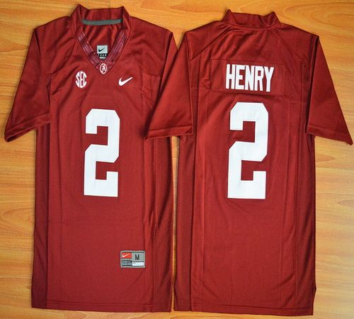 eaf9bdd5b43 Youth Alabama Crimson Tide Derrick Henry 2 College Football Limited Jerseys  - Red