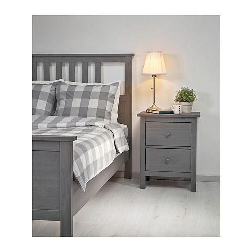 Hemnes Bettgestell Grau Lasiert Ikea Deutschland Verstellbare Betten Bettgestell Zimmer