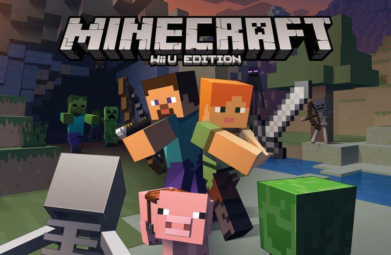 Minecraft is finally headed to the Wii U.