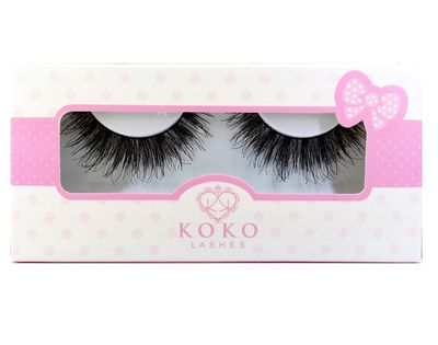 Be Chic, Be Sexy, Be Daring! KoKo Lashes enhances the natural beauty of your eyes. Perfect for all eye shapes and any occasion. Handmade, Reusable and Easy to apply.