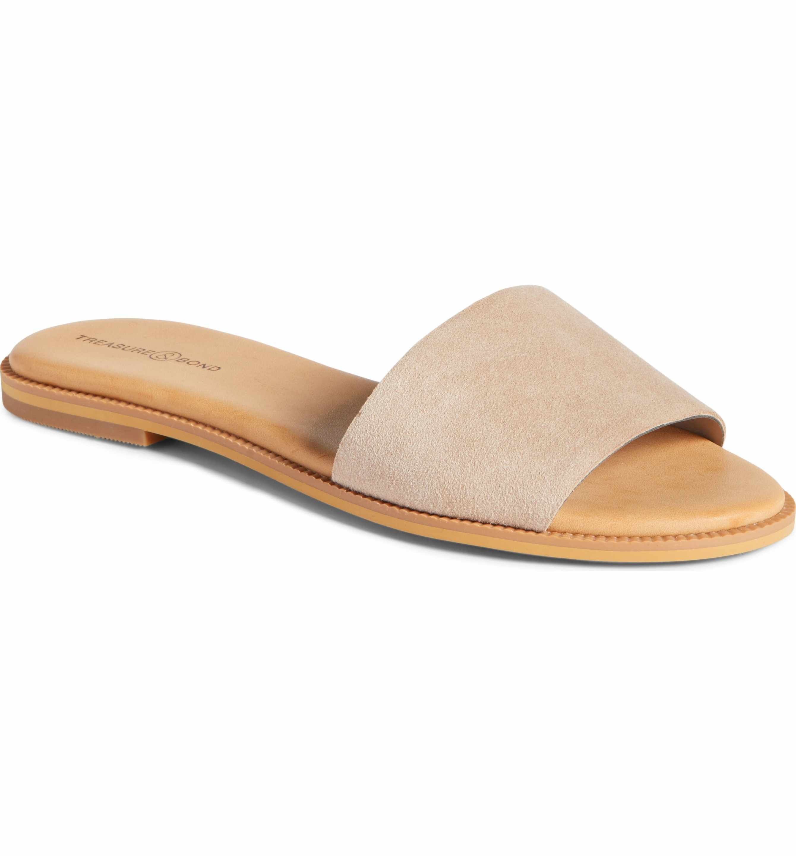 2f598bfbf1e6a Main Image - Treasure   Bond Mere Flat Slide Sandal (Women)