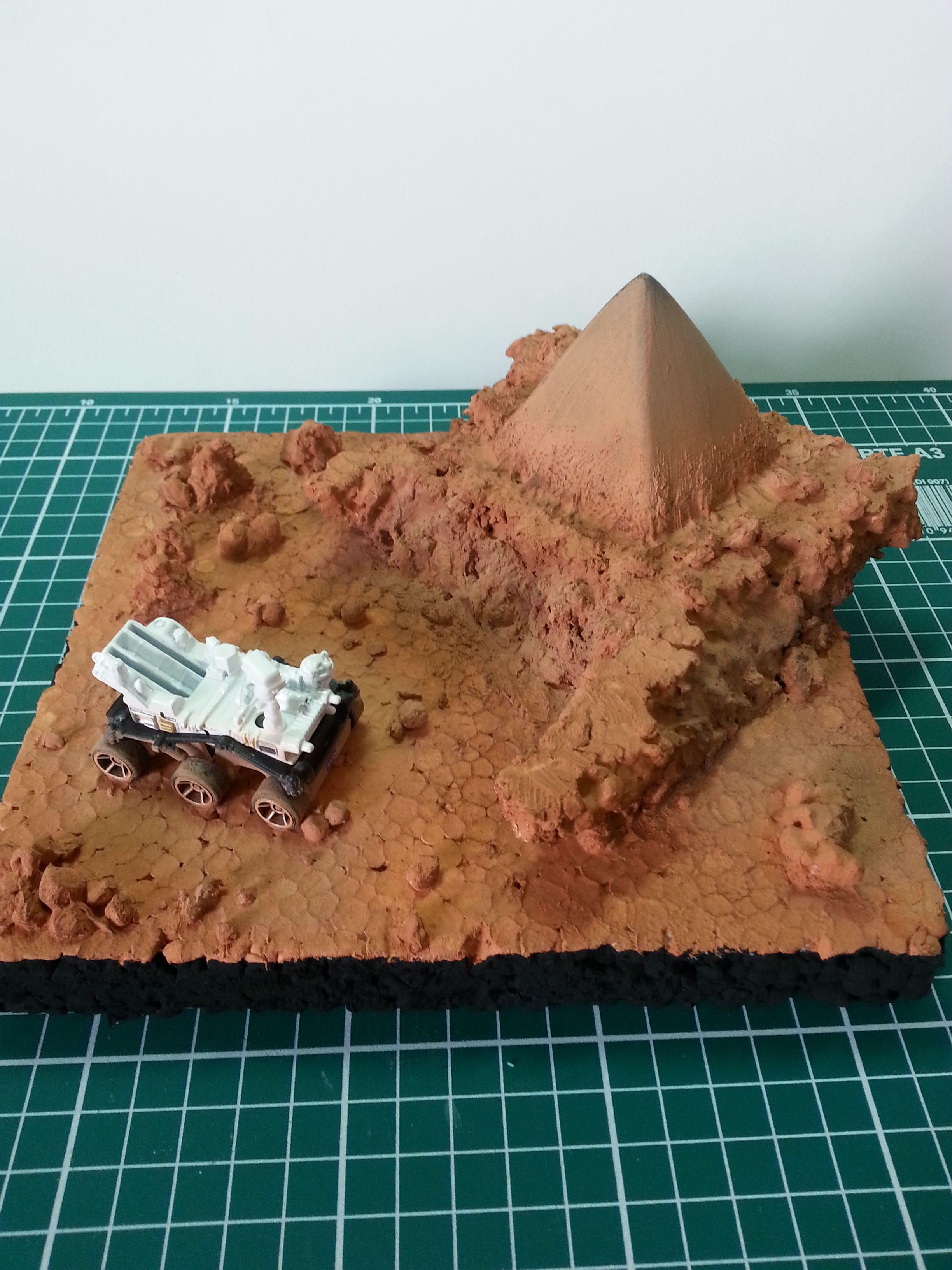how to make a planet diorama