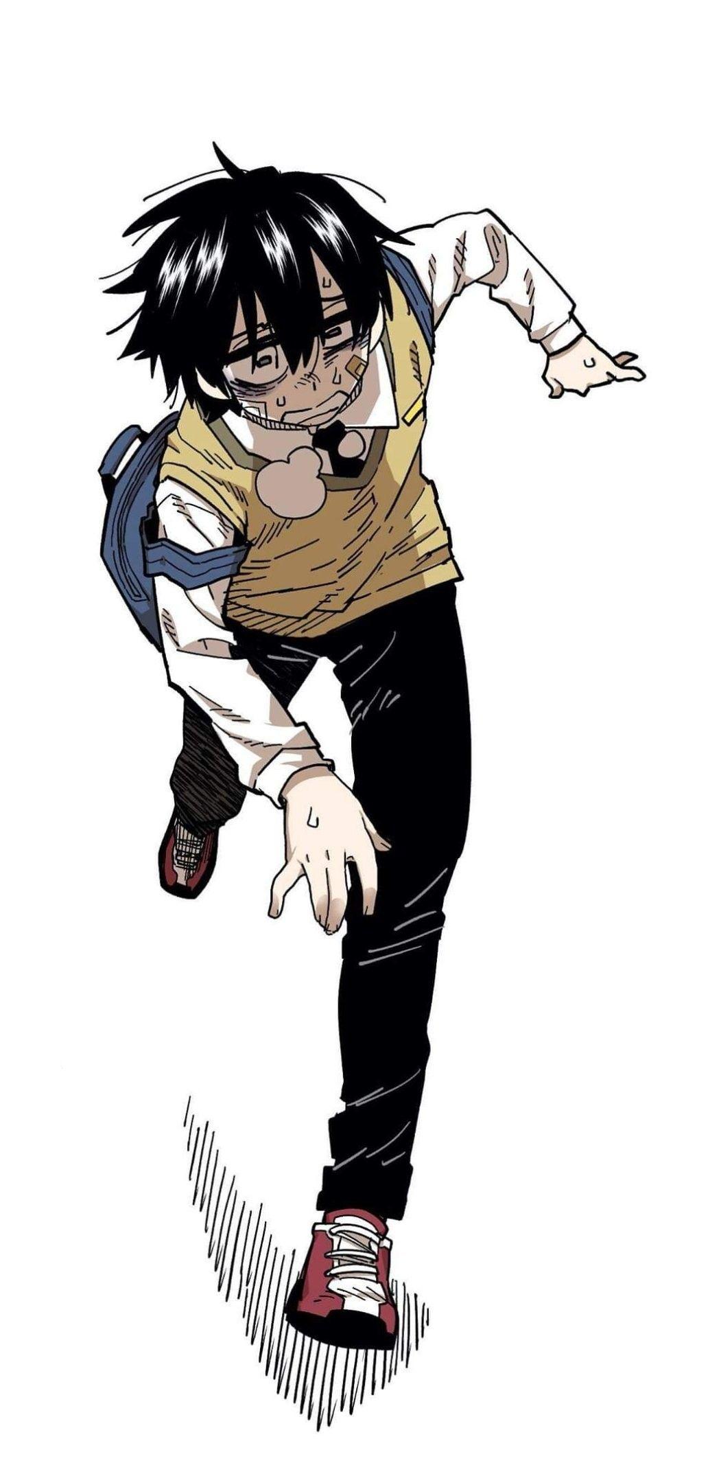 Anime Boy Running : anime, running, Hooni, Anime, Poses,, Catboy,