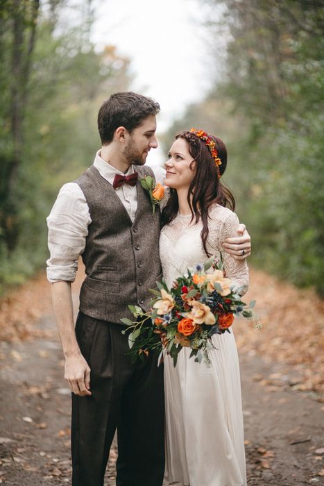 Deanna and Andrew's Autumnal Peterborough Elopement