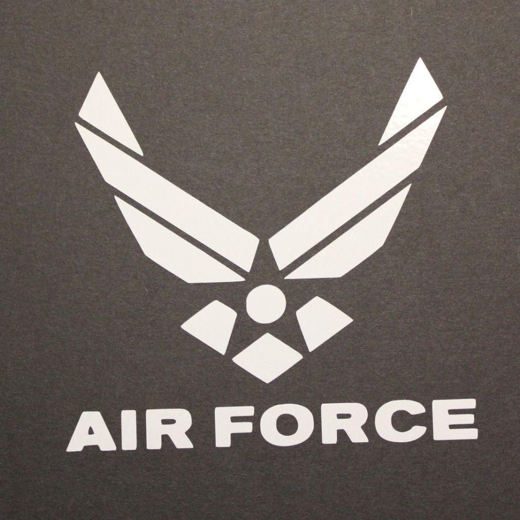 Air Force Decal Air force, Vinyl decals, Air