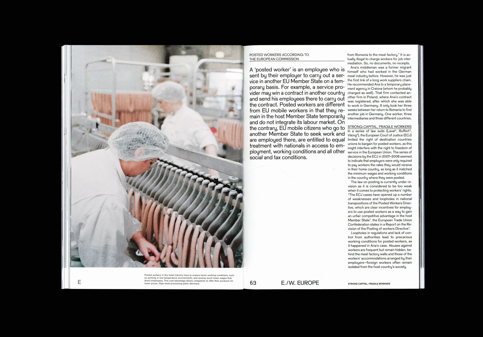 Migrant Journal No.2: Wired Capital | magazine & editorial layout ...