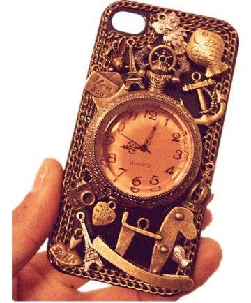 Unique Classical Clock Iphone5 Case : EverMarker.com