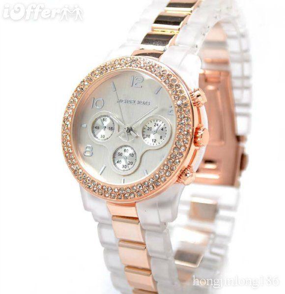 Hot Michael Kors Watch Womens Crystal Watches Bijoux Accessoires Horloge