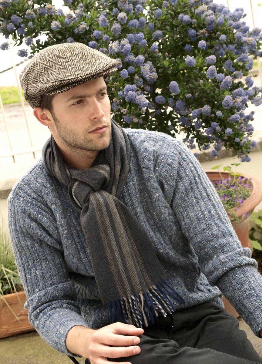 f86cb7734df Irish Tweed John Hanly caps and lambswool scarves...classically made Irish  clothing!