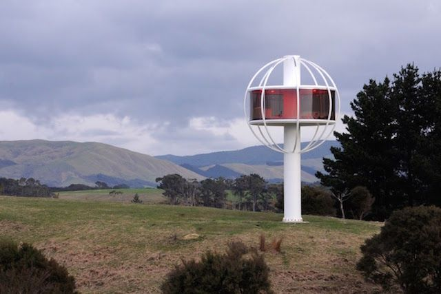 The Skysphere, A Futuristic Treehouse That Is Controlled Via Smartphone