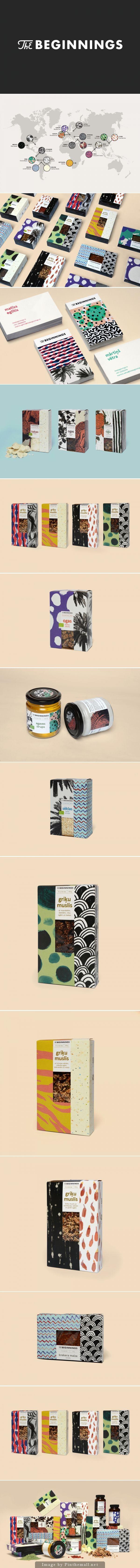 The Beginnings is interesting #identity #packaging #branding PD
