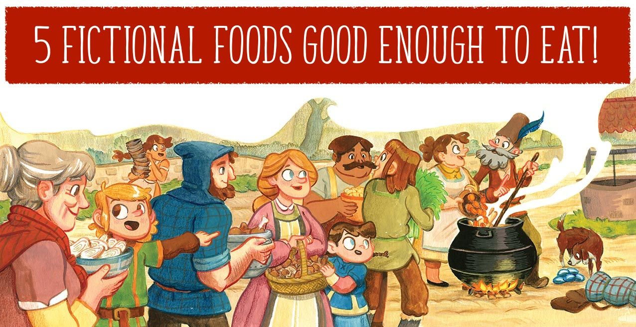 What's your favourite fictional food? Find out Storytime magazine's here: http://www.storytimemagazine.com/news/stuff-we-love/favourite-fictional-foods/