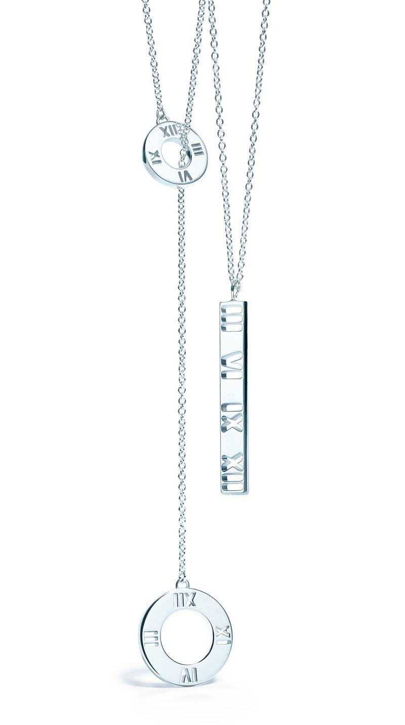 5a6735615009 Strength in numbers. Atlas® pendants in sterling silver ...