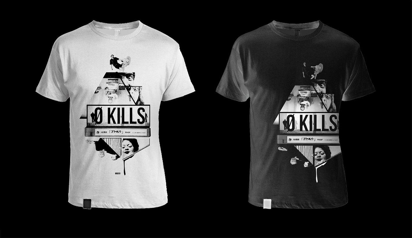 """T-Shirt per il lancio del video """"L'ultima Scena"""" The Night Skinny feat. Lord Bean [non prodotta]"""