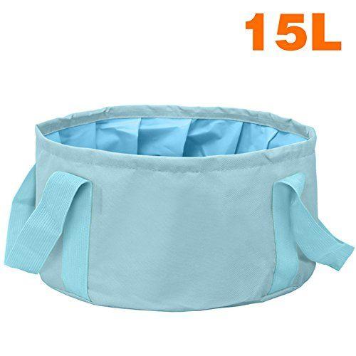 Foldable Water Pot Pan Bags Sink Washbasin Bucket Wash Basin Camping Supplies
