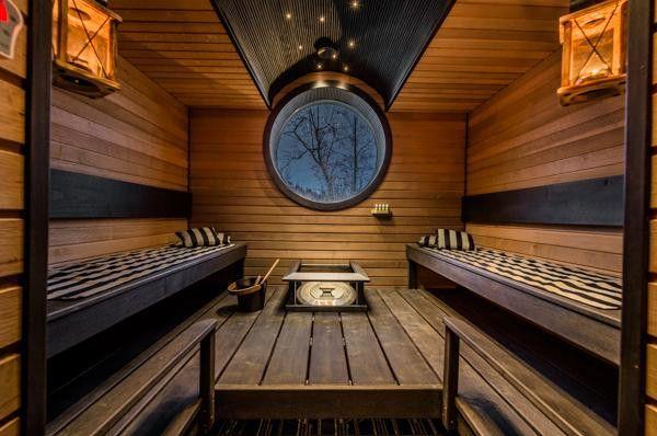 Sauna, Saunan sisustaminen