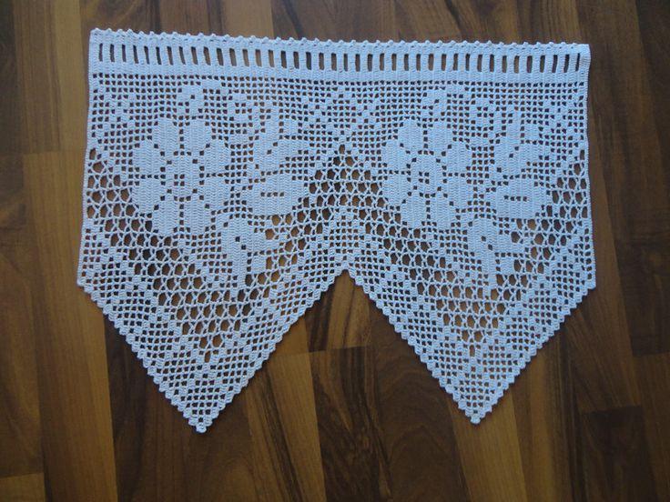 Bildergebnis für häkelmuster bistro gardinen | crochet | Pinterest ...