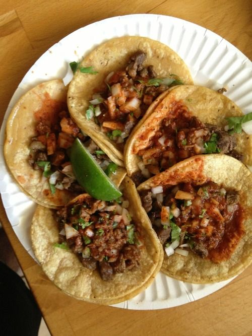 I miss these tacos more than anything. :c
