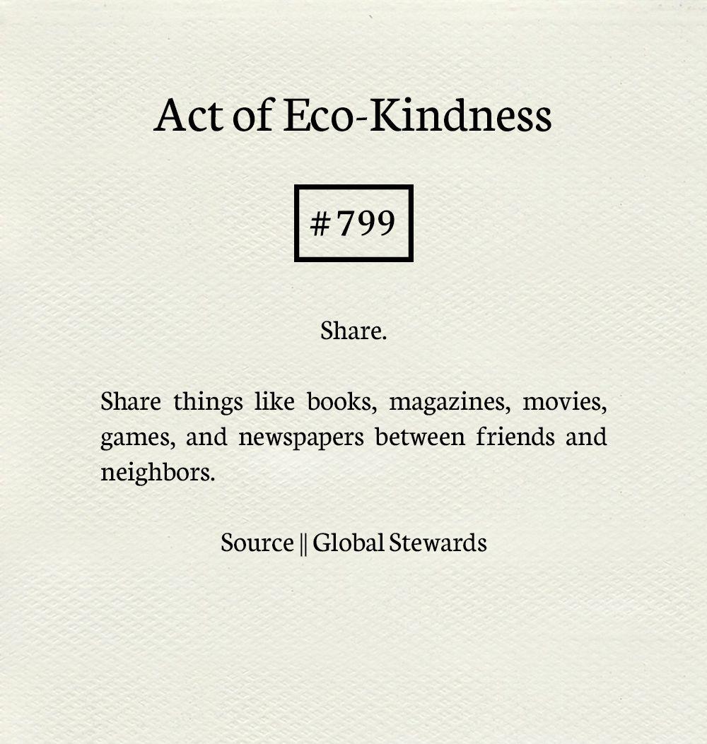 HAVAIII's Acts of Eco-Kindness.