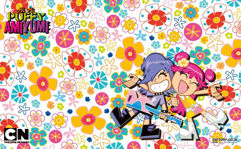 Hi Hi Puffy Amiyumi Hd Wallpaper Wallpapers Pinterest