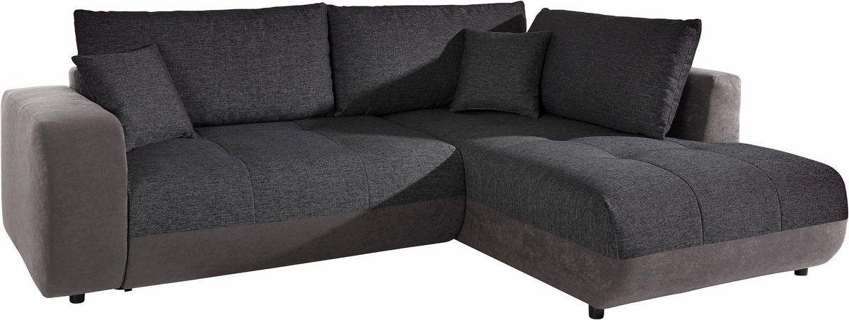 Nova Via Ecksofa Wahlweise Mit Bettfunktion Sofa Home Decor Sectional Couch