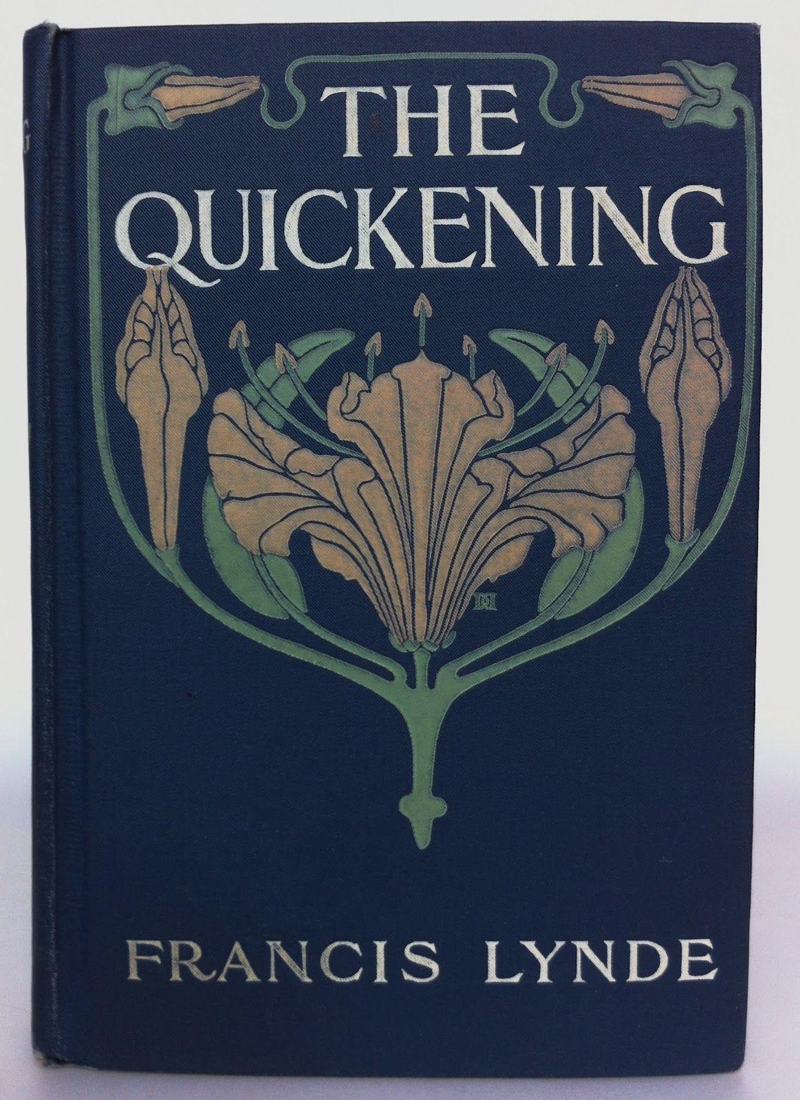 The Quickening by Francis Lynde Indianapolis The Bobbs-Merrill Company 1906 (March) Beautiful Antique Books