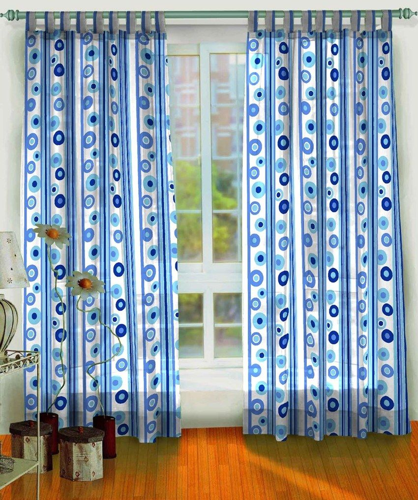 Curtains Are Pretty Home Accessories That Give Each Room A Homely Inspiration Blue Curtain Designs Living Room Inspiration Design