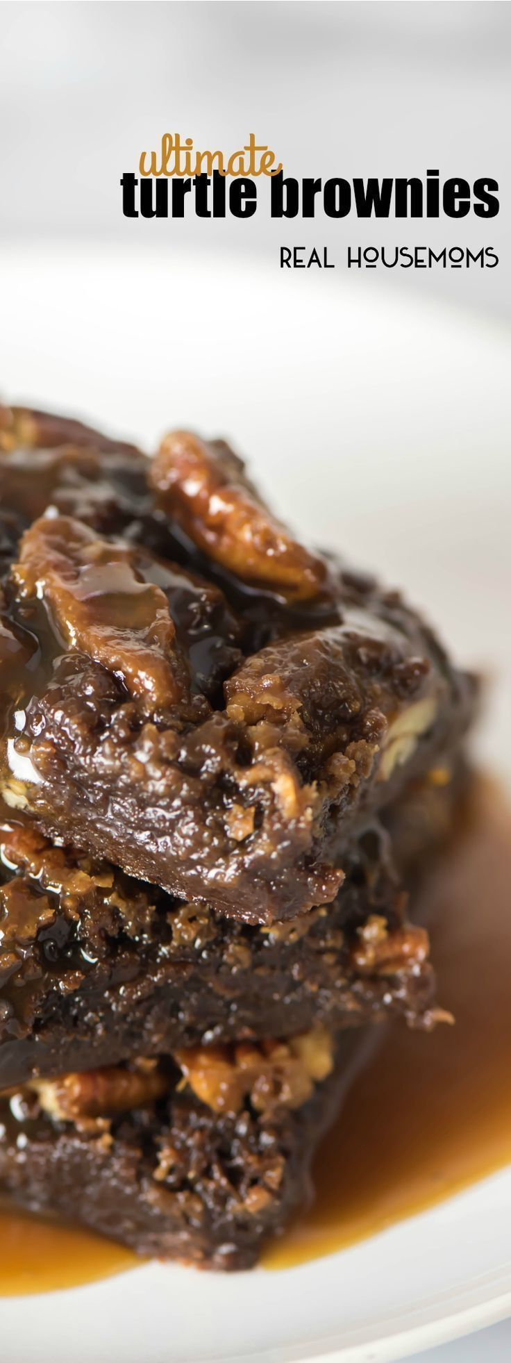 Ultimate Turtle Brownies fudgy brownies with 2 kinds of caramel sauce and pecans! This is the ultimate and it's such an easy dessert recipe! #turtlebrownies Ultimate Turtle Brownies fudgy brownies with 2 kinds of caramel sauce and pecans! This is the ultimate and it's such an easy dessert recipe! #turtlebrownies Ultimate Turtle Brownies fudgy brownies with 2 kinds of caramel sauce and pecans! This is the ultimate and it's such an easy dessert recipe! #turtlebrownies Ultimate Turtle Brownies fudg #turtlebrownies