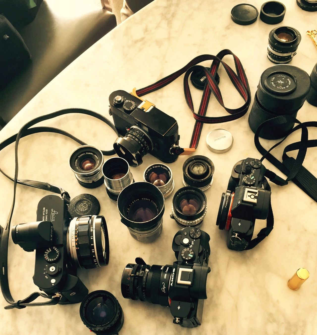 Leica and Fuji X gathering