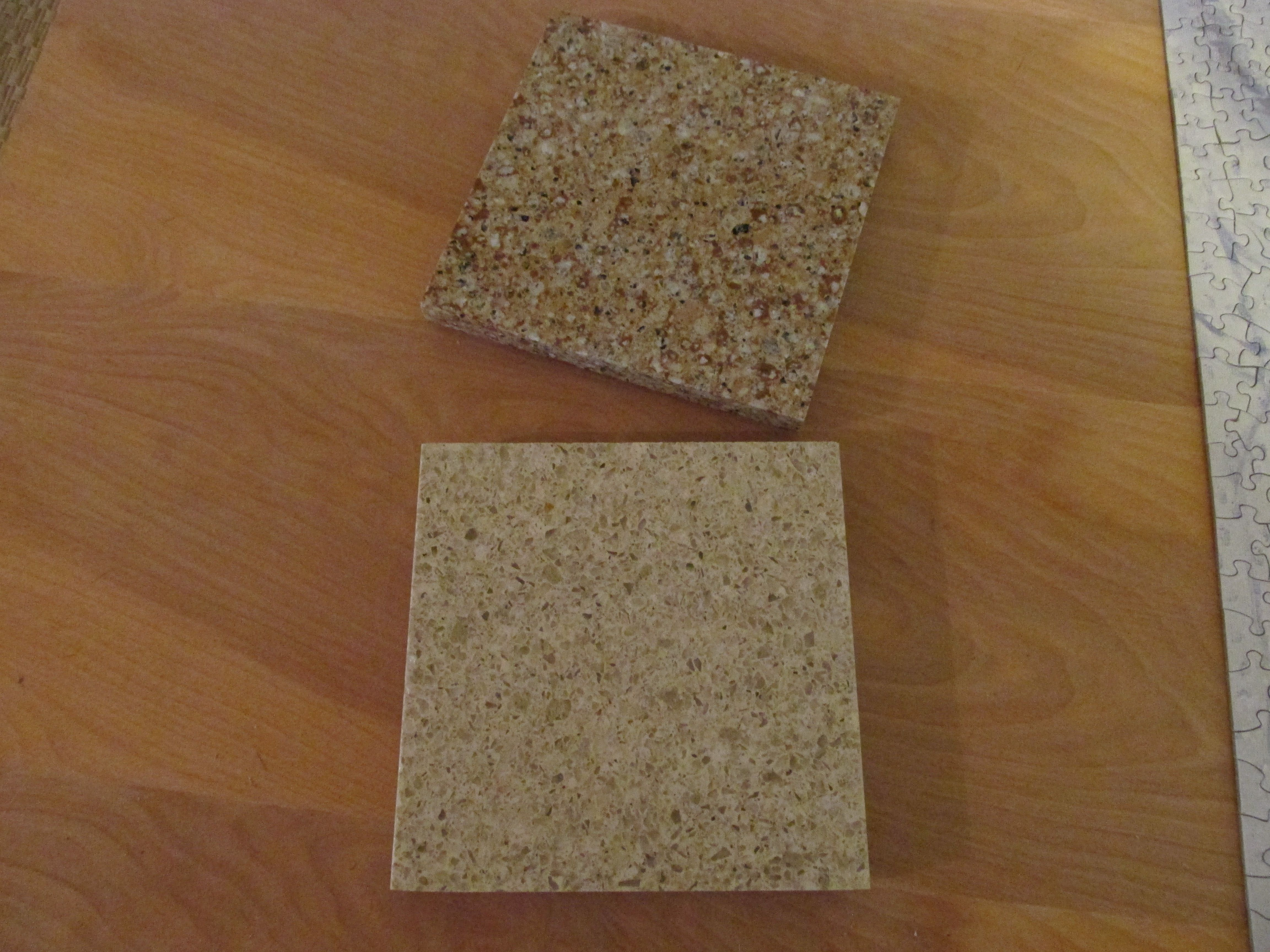Amazing Repurposed Solid Surface Quartz Countertop Material, Remade Into Great  Trivets!! They Are Heat