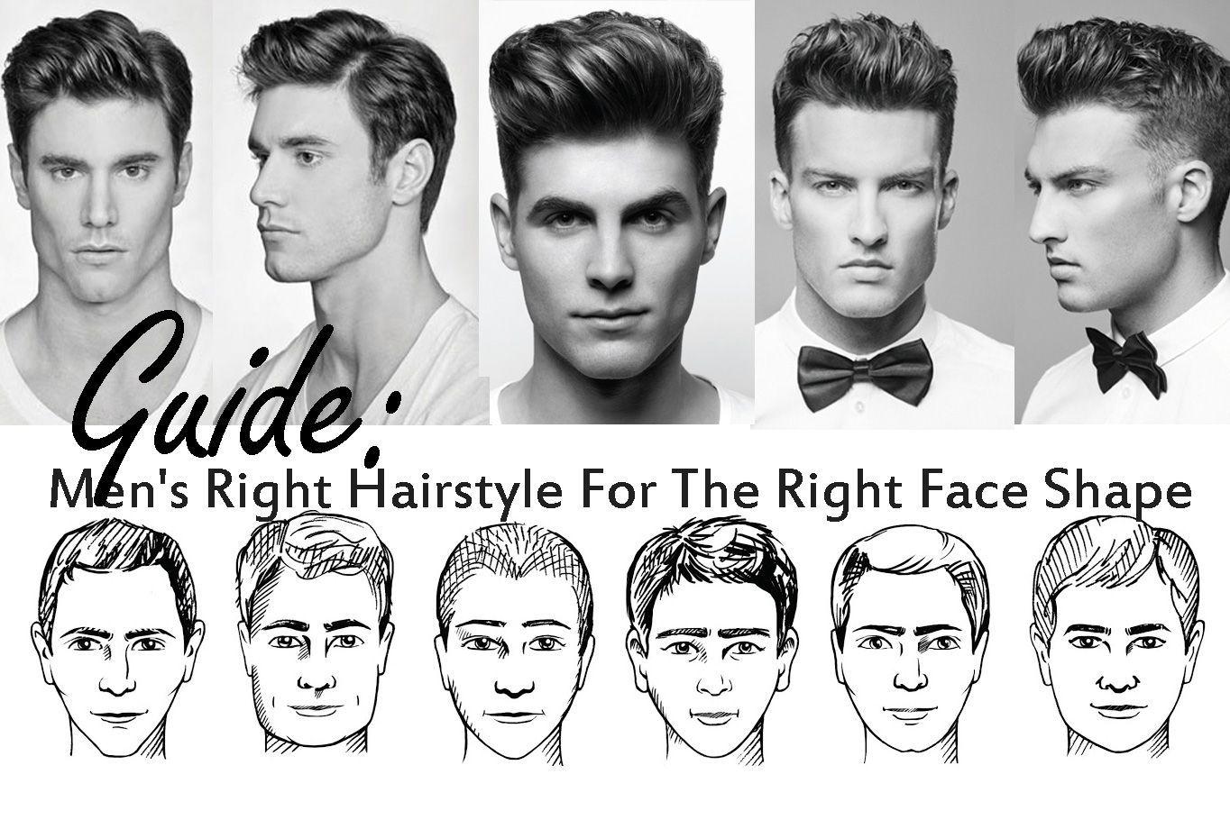 Men 039 S Hairstyle Based On Face Shape Classy Peinados De Hombre Tutoriales Esmaltes