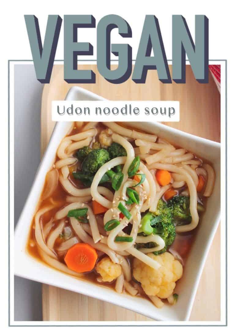 Vegan Udon Noodle Soup | Recipe | Udon noodle soup, Vegan recipes easy, Udon  noodles