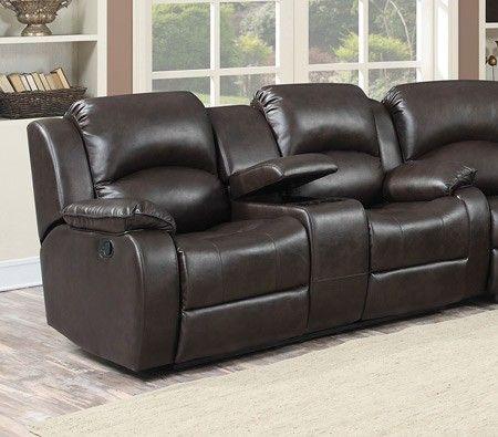 Merveilleux AC Pacific Furniture   Samara Dual Reclining Loveseat With Console    Samara Loveseat