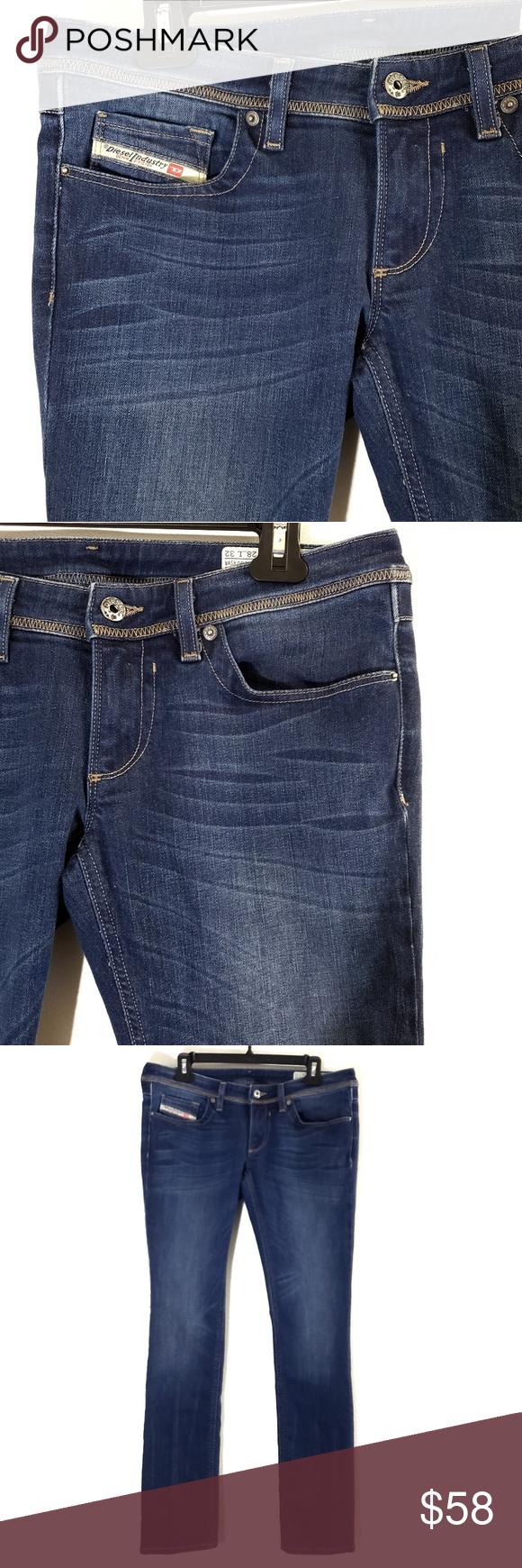 811d894f Diesel Lowky Regular Straight Low Waste Jeans Diesel Industry Lowky jeans  in excellent condition. Regular straight, low waist, stretch, wash ORZ61.