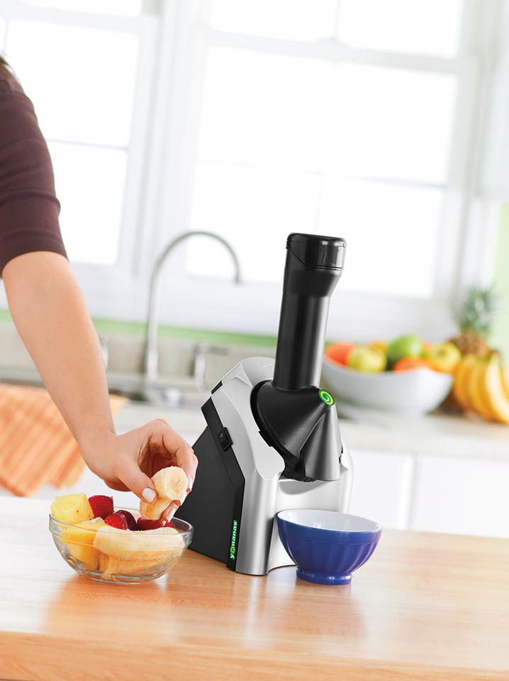 Yonanas Fruit Soft Serve Machine + Giveaway! | Fruit soft ...