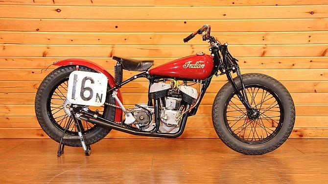1948 Indian Scout Big Base Racer Mecum Auctions Indian Scout Indian Motorcycle Motorcycle