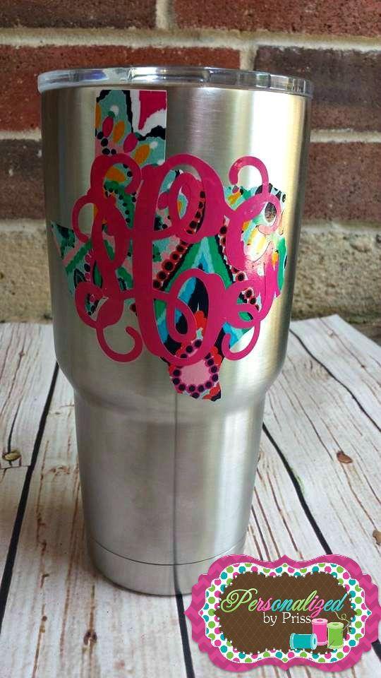 Yeti Rambler Texas Monogrammed Cup 30 Oz By