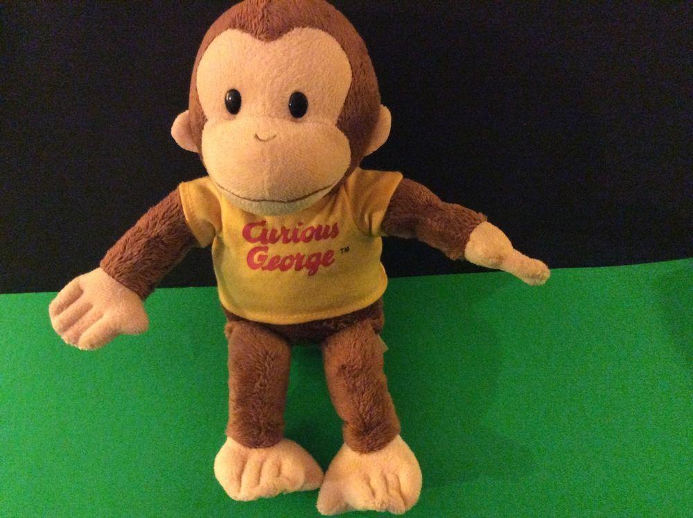 Universal Studios Kellytoy Stuffed Plush Curious George w Banana 16