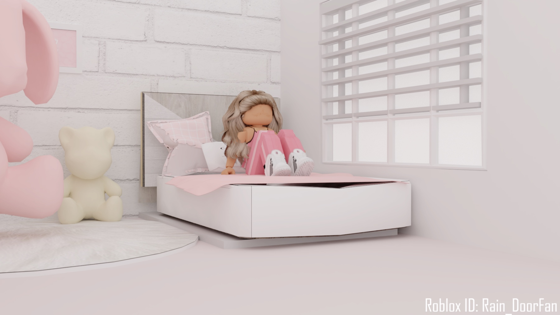 Roblox Gfx Lazy Girl In 2020 Roblox Animation Roblox Roblox Pictures
