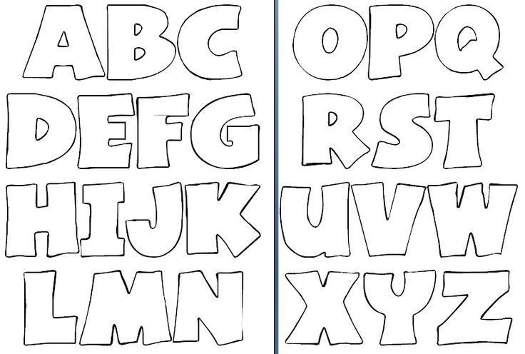 Molde de letras para imprimir y recortar - Imagui:   alfabetización ...